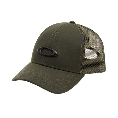 Oakley Casual SP20 Adult Cap (Trucker Ellipse New Dark Brush) Size OSFA