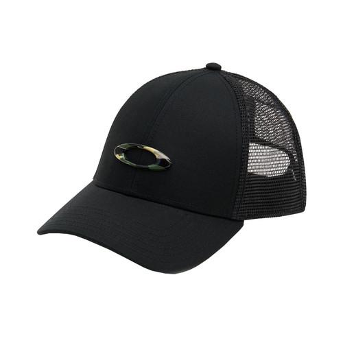 Oakley Casual SP20 Adult Cap (Trucker Ellipse Blackout) Size OSFA