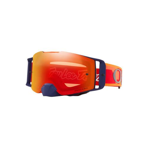 Oakley Front Line MX Goggle (TLD Confetti Orange/Red) Prizm MX Torch Iridium Lens