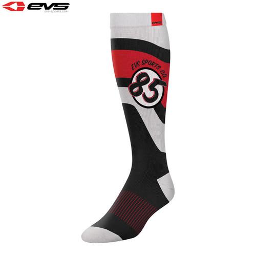 EVS Moto Sock Cosmic (Black) Pair Size S/M