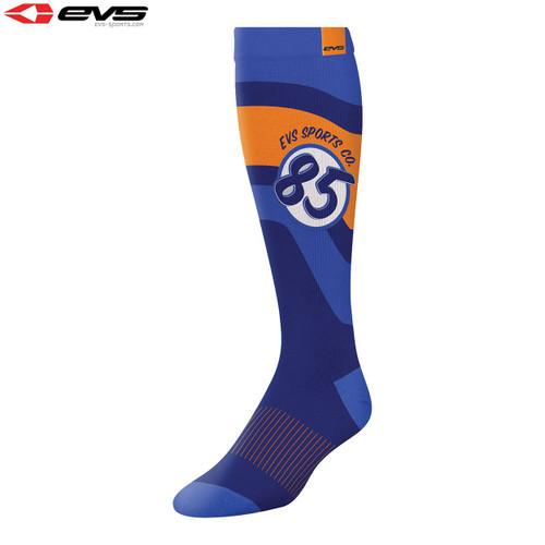 EVS Moto Sock Cosmic (Dark Blue) Pair Size S/M