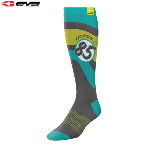 EVS Moto Sock Cosmic (Tiffany Blue) Pair Size S/M