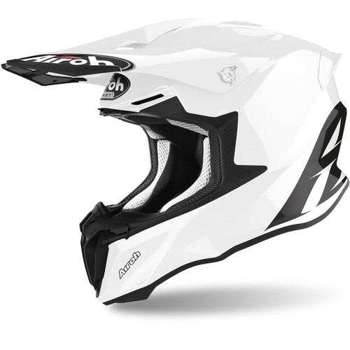Airoh Motocross Helmet Twist 2.0 White Gloss
