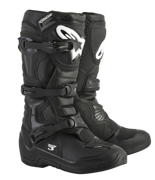 Alpinestars Tech-3 Motocross Boots Black
