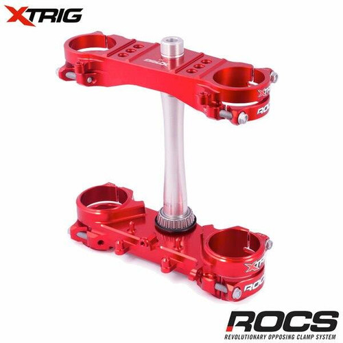 Xtrig ROCS Tech (Red) Honda CRF250 14-21 CRF450 13-20 (OS 20mm)