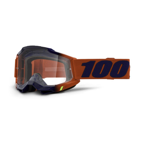 100 Percent ACCURI 2 Goggle Kearny - Clear Lens SP21 Adult