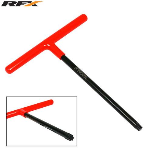 RFX Pro T-Bar (Black/Orange) Standard Reach with Rubber Handle KTM T45 Torx head