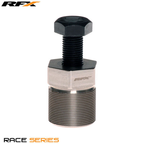 RFX Race Series Flywheel puller (Silver) External RH M27xP1.0 Gas Gas Pro 02-16 Ossa 11-15