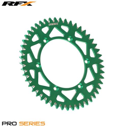 RFX Pro Series Elite Rear Sprocket Kawasaki KX65 00-20 (Green 46T)