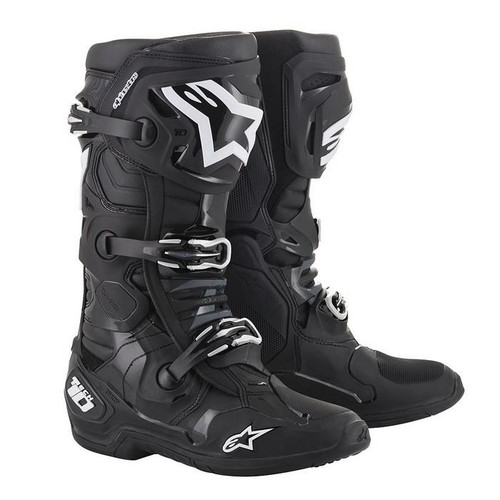 Alpinestars 2021 Tech-10 Motocross Boots Black