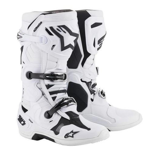 Alpinestars 2021 Tech 10 Motocross Boots White