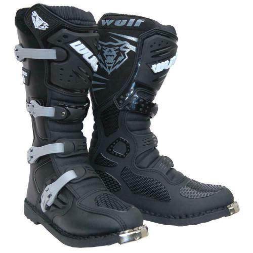 Wulfsport Trackstar Boots Black