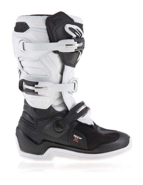Alpinestars Tech 7S Youth Boots Black/White