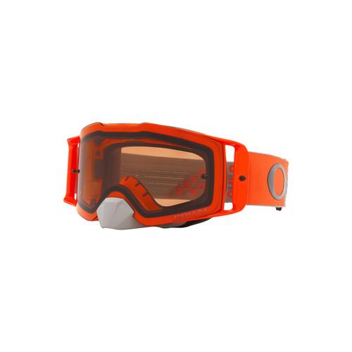 Oakley Front Line MX Goggle (Heritage B1B Orange/Gunmetal) Prizm MX Bronze Lens