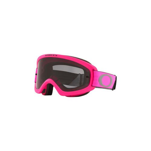 Oakley O Frame 2.0 Pro Youth MX Goggle (Tuff Blocks Pink/Gunmetal) Dark Grey Lens