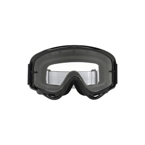 Oakley XS O Frame MX Goggle (Jet Black) Clear Lens