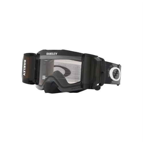 Oakley Front Line MX Goggle (Matte Black) Prizm Low Light Lens Inc Roll Offs