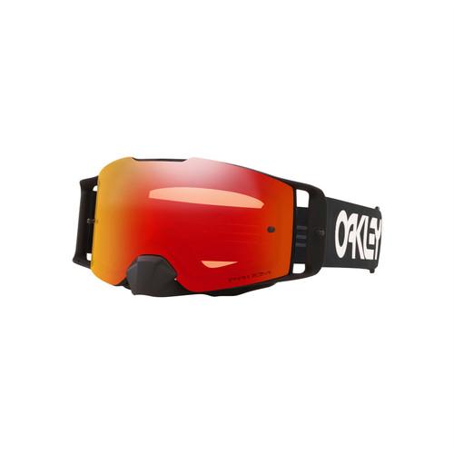Oakley Front Line MX Goggle (Factory Pilot Black) Prizm MX Torch Lens