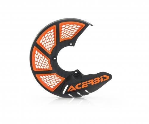 Acerbis X-Brake Vented Disc Cover Black/Orange