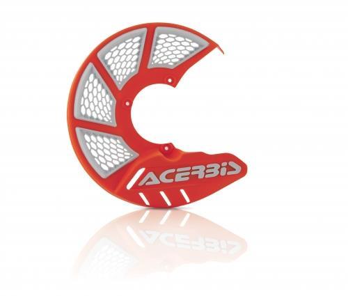 Acerbis X-Brake Disc Cover Vented Orange 16