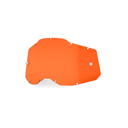 100 Percent RC2/AC2/ST2 Replacement Lens - Orange FA20 Adult
