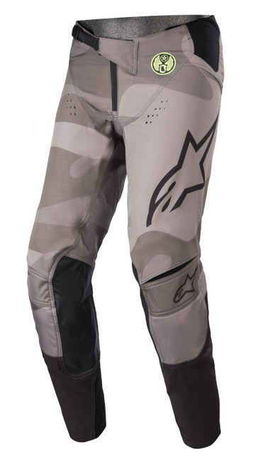 Alpinestars Youth 2021 Limited Edition Racer Pants Grey Yellow Fluo Black