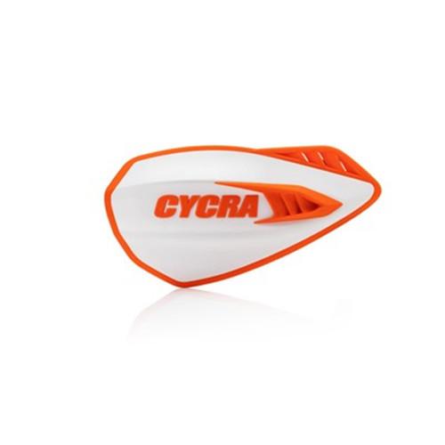 CYCRA HANDGUARDS CYCLONE WHITE/ORANGE