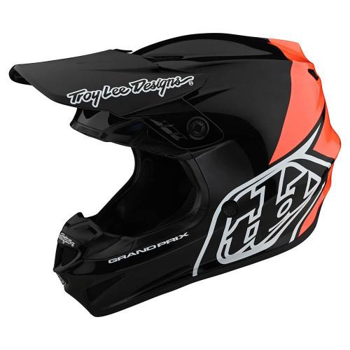 TLD 2021 GP MX Helmet Block Black/Orange