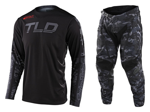 TLD 2022 Adult Scout GP Combo Recon Black