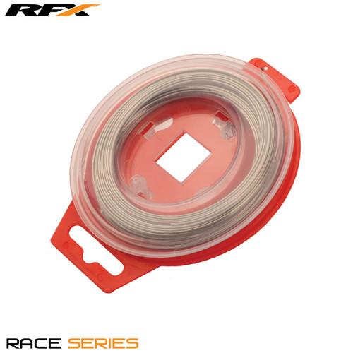 RFX Race Grip locking Safety Wire Silver Universal 0.8mm x 30m Roll