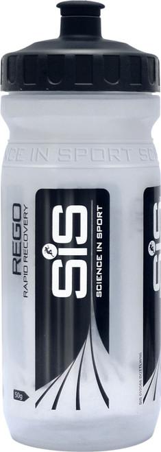 Science In Sport Clear Branded Bike-Fit Water Bottle Wide Neck 600ml