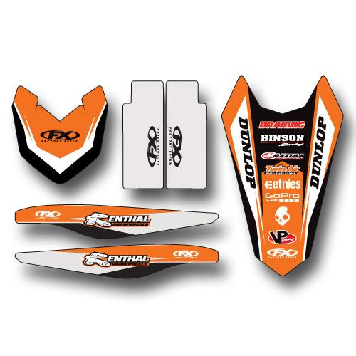 Factory Effex Trim Kit Graphics KTM