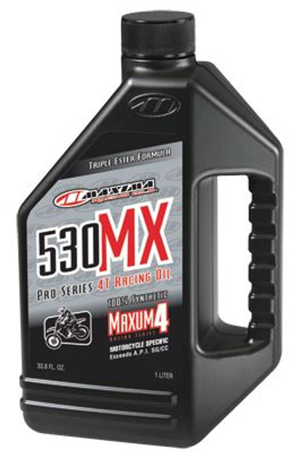 Maxima 4T 530MX 100% Ester Synthetic (SAE 5w30) 1Litre