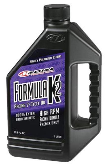 Maxima 2T Formula K2 100% Ester Synthetic (SAE 40w) 1 Litre