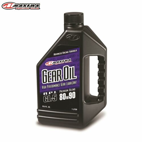Maxima Gearoil Hypoid Premium Blend (SAE 80w90) 1 Litre