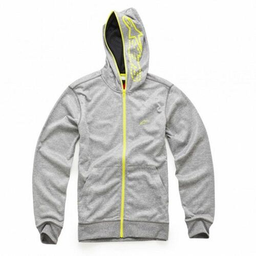 Alpinestars Freemont Fleece Zip-Up Hoody Heather Grey