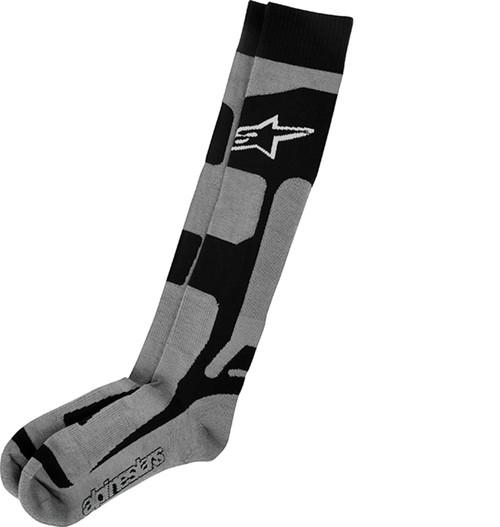 Alpinestars Tech Coolmax Socks Grey/Black/White