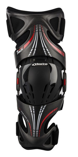 Alpinestars Fluid Tech Knee Brace Black/Red Right