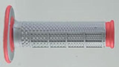 Renthal 50/50 Dual Taper Handlebar Grips Red