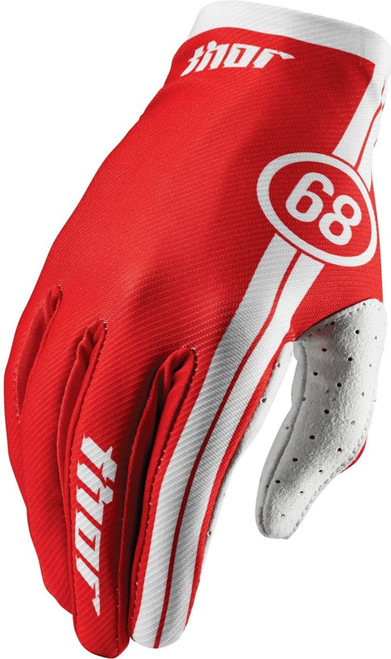 2016 Thor Void Gloves Course Red
