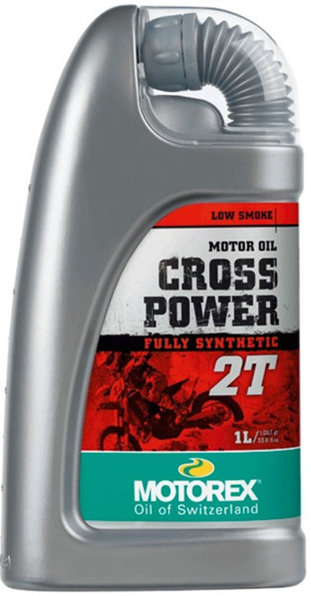 MOTOREX CROSS POWER Fully Synthetic 2T Engine Oil