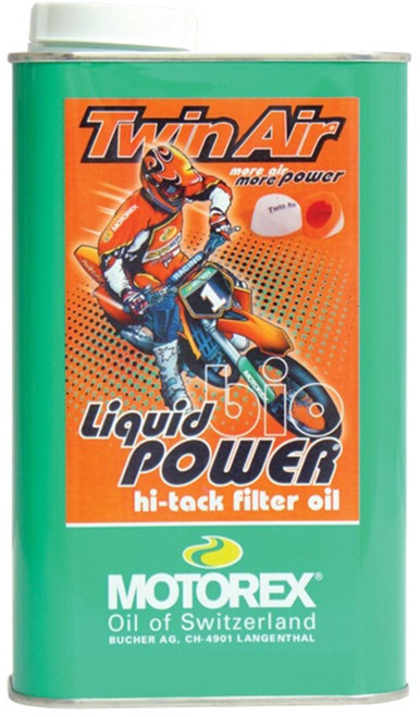 MOTOREX RACING BIO POWER FILTER OIL 1Litre