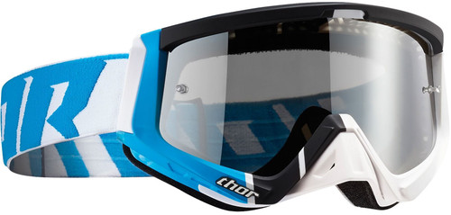 2016 Thor Sniper Barred goggle blue / white