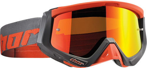 2016 Thor Sniper Warship goggle charcoal / orange