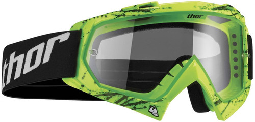 2016 Thor Enemy Youth Goggles Splatter Green