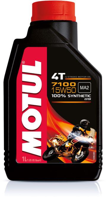 Motul Fully synthetic 7100 10W50 4T oil 1 litre