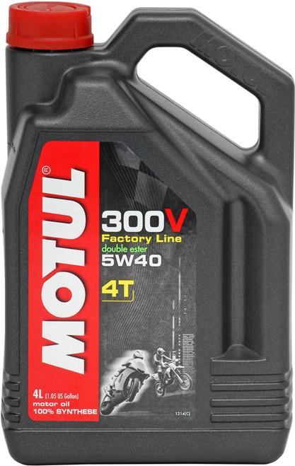 Motul Factory Line 300V 15W50 4T oil 4 litres