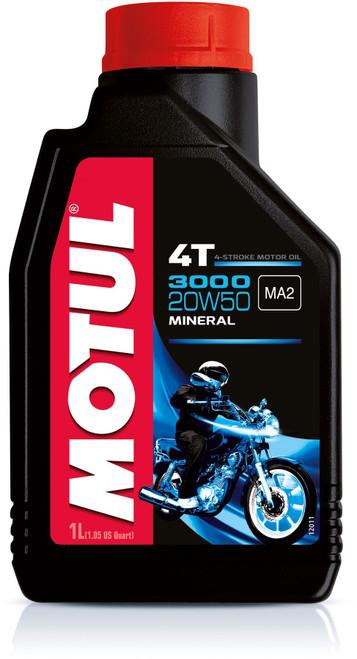 Motul 3000 Series 20W50 4T mineral oil 4 litres