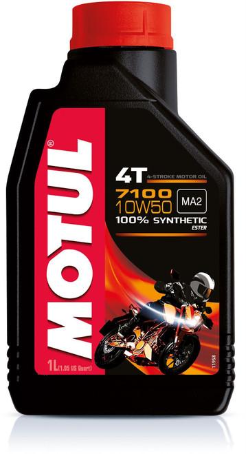Motul Fully synthetic 7100 10W50 4T oil 4 litres