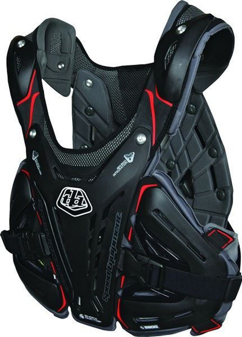 Troy Lee Designs/Shock Doctor BG5900 Chest Protector Black